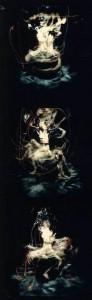1986 - Triptyque n° 2(11-12-13) L'Homme en rotation © Christian Lebrat