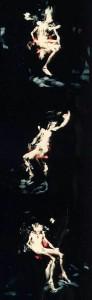 1986 - Triptyque n° 5(2-3-4) L'Homme au coussin rouge © Christian Lebrat