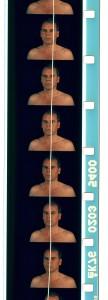 2008 - Autoportrait ciselé © Christian Lebrat