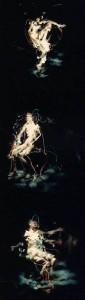 1986 - Triptyque n° 5(16-17-18) L'Homme assis © Christian Lebrat