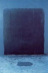 1989 - Bleu I © Christian Lebrat