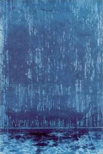 1990 - Bleu II © Christian Lebrat