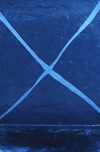 1990 - Bleu III © Christian Lebrat
